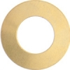 Metal Blank 24ga Brass Washer-round 25mm With Hole